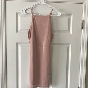Blush dress size medium